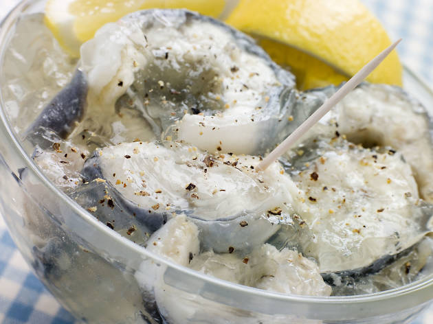 London's most historic dishes - jellied eels