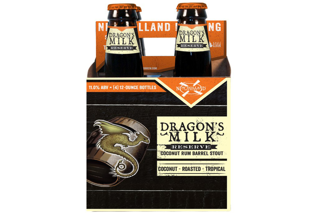 Dragon's Milk Reserve Coconut Rum Barrel, New Holland Brewing, Holland, MI