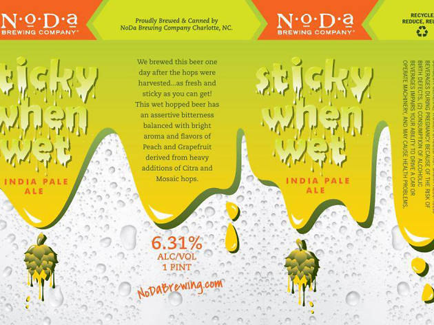 Sticky When Wet, NoDa Brewing Company, Charlotte, NC