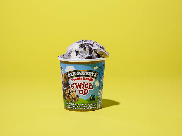 Ben and Jerry's Cookie Swich Up ice cream