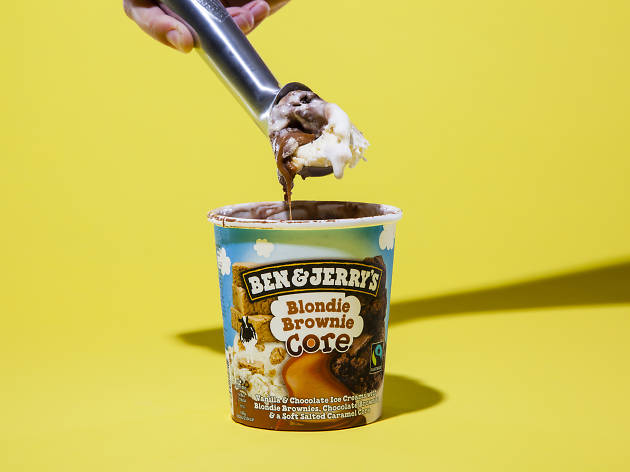 Blondie Brownie Ben & Jerry's ice cream