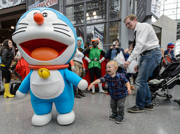 The best costumes from Day One of New York Comic Con 2016