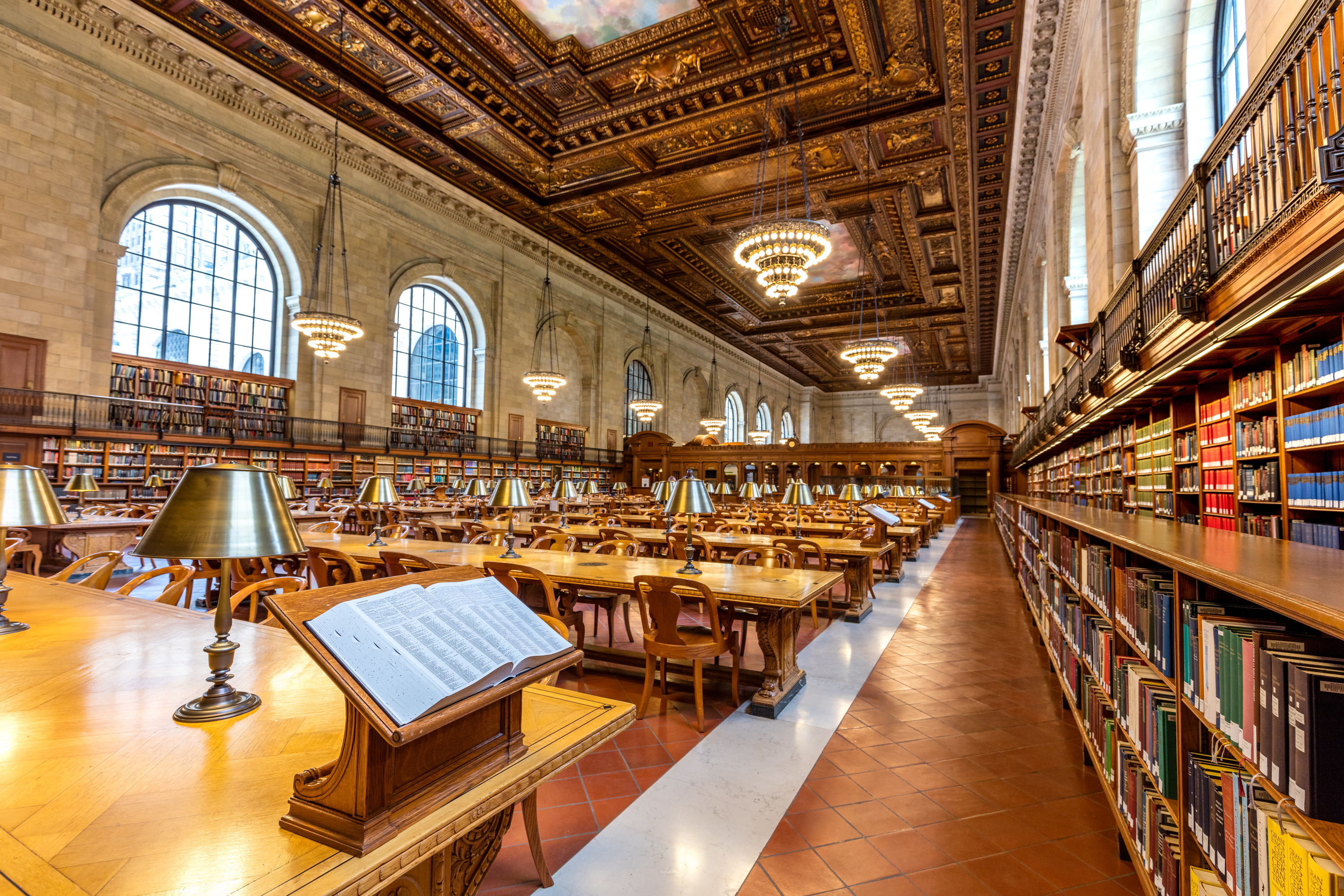 The New York Public Library S Gorgeous Rose Reading Room