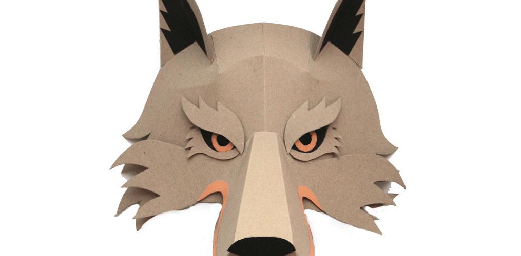 Créer des masques animaliers avec Paris Atelier