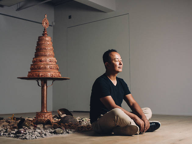 Interview: Tsherin Sherpa on displacement and what it's like to be a Buddhist artist