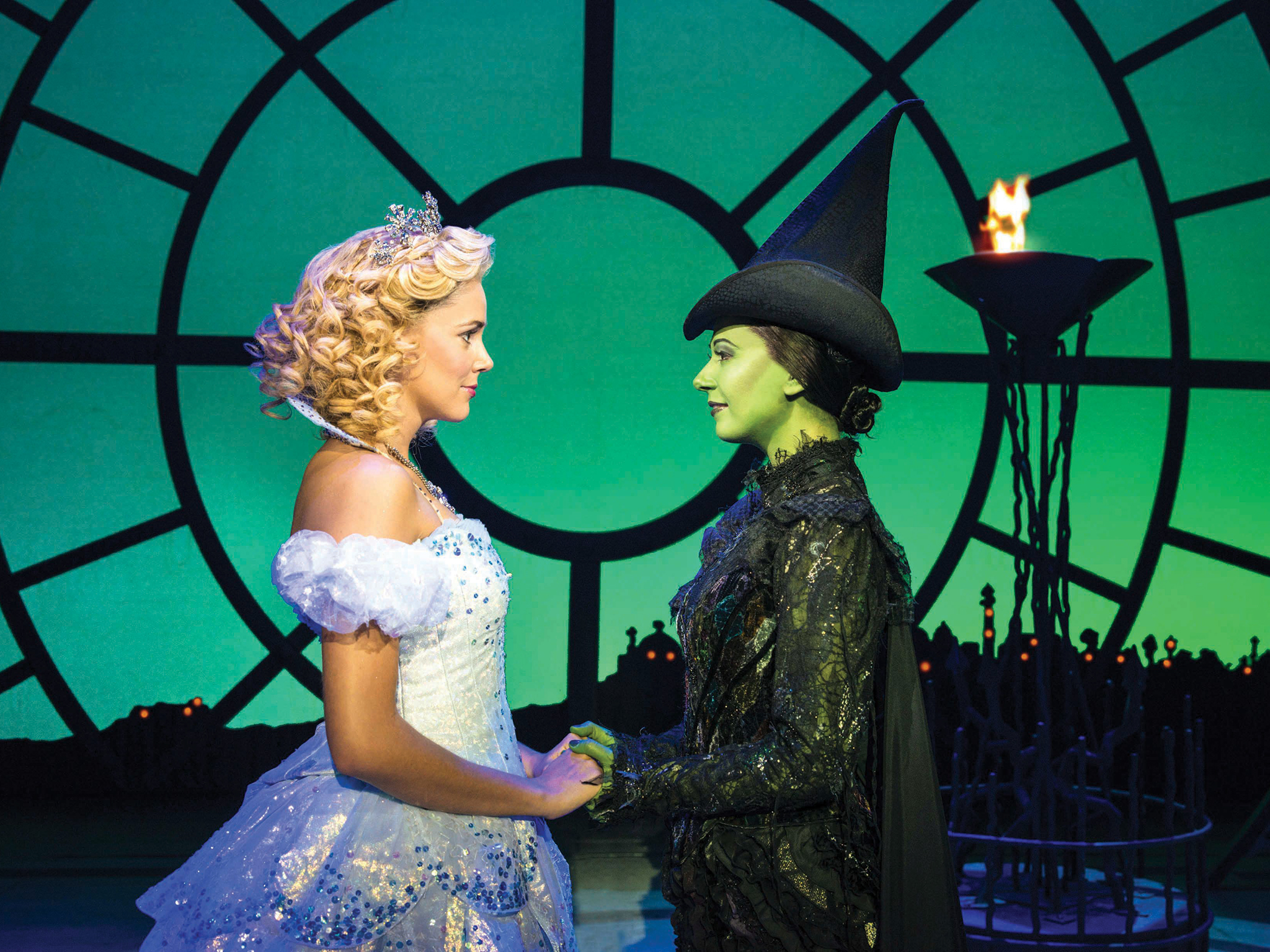 Interview: Wicked stars Jacqueline Hughes and Carly Anderson on the musical's enduring popularity