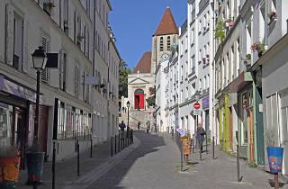 quartier Saint-Blaise Paris promenade bucolique église Charonne