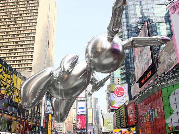 2007, Rabbit by Jeff Koons