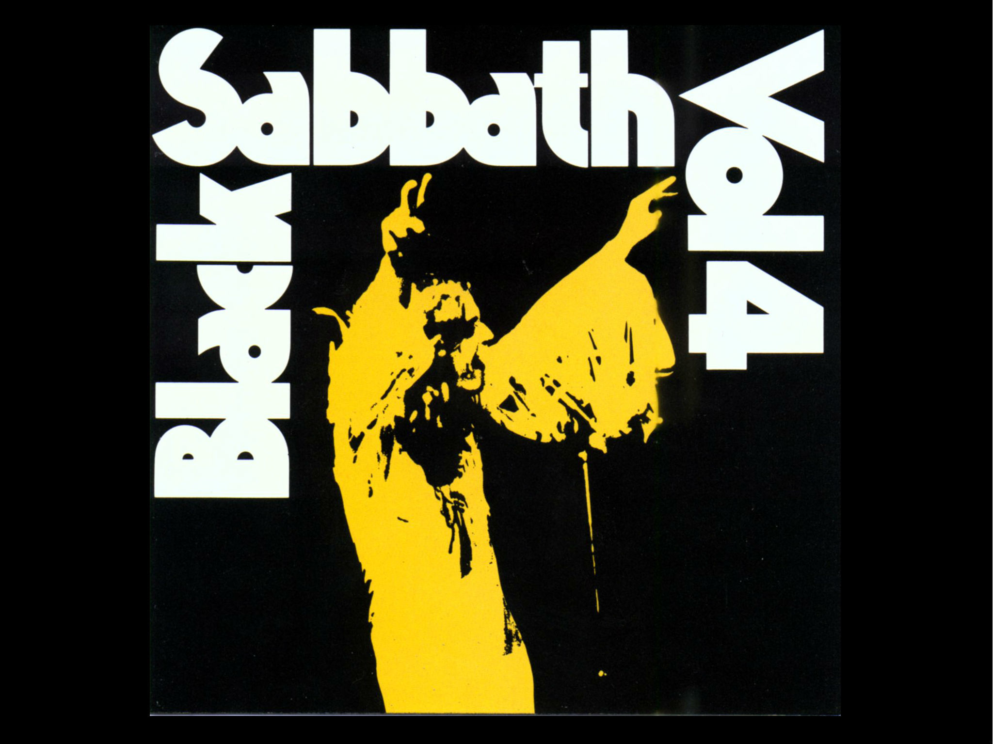 Black Sabbath vol 4, 1972