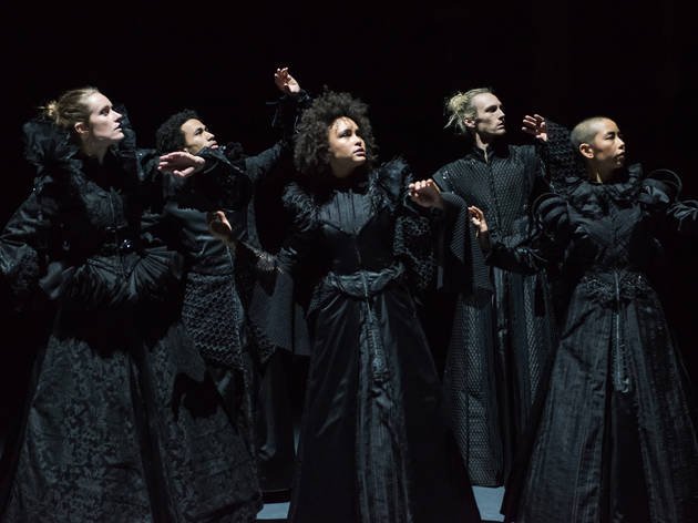 The Dark Chorus 2016 Lucy Guerin Inc at Melbourne Festival production still 01 photographer credit Gregory Lorenzutti