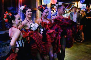 Alliance Française Sydney Can Can dancers
