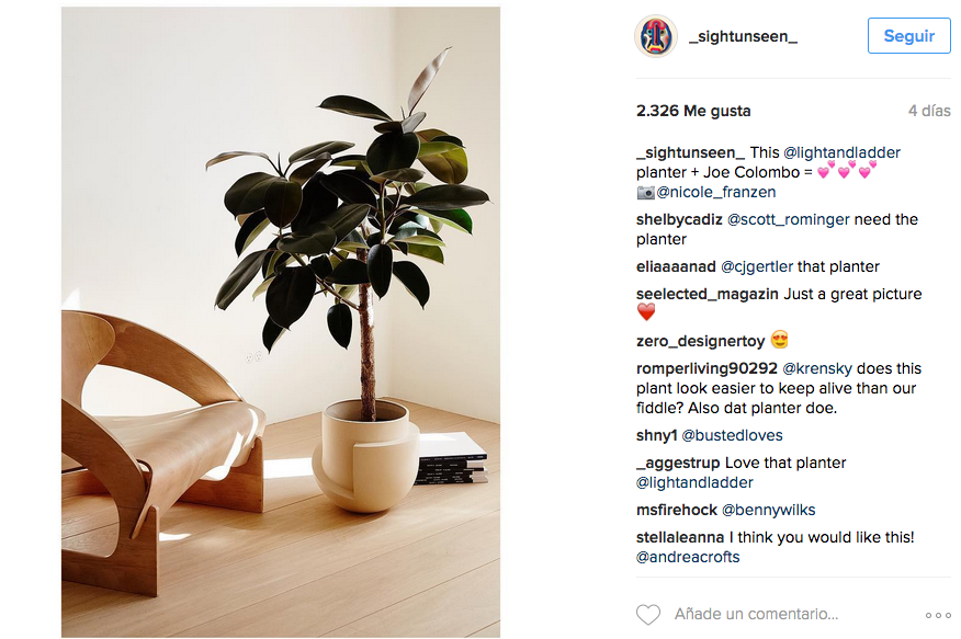 Sight Unseen Instagram