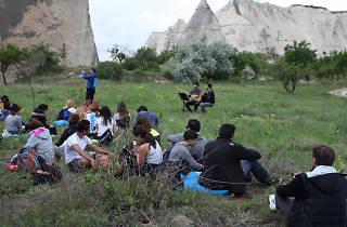 Cappadox festivali doğa yürüyüşü ve açık hava konseri