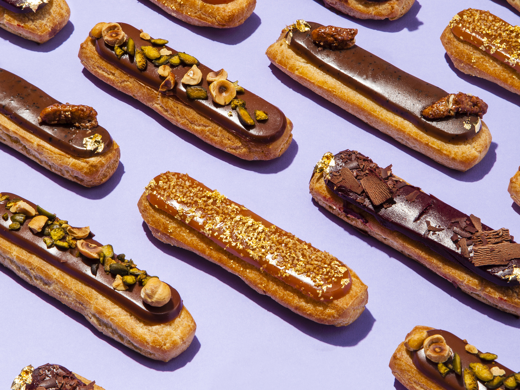 mad desserts in london, pierre marcolini, eclair