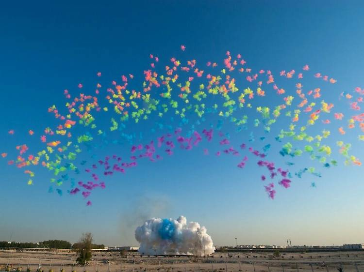 Sky Ladder: The Art Of Cai Guo-Qiang (2015)
