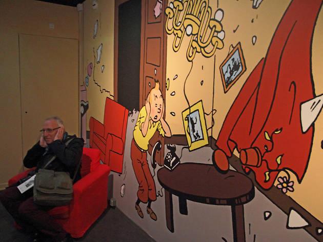 Hergé exposition Grand Palais Tintin