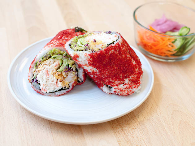 Yellowtail Belly Sushi Best sushi burritos in...