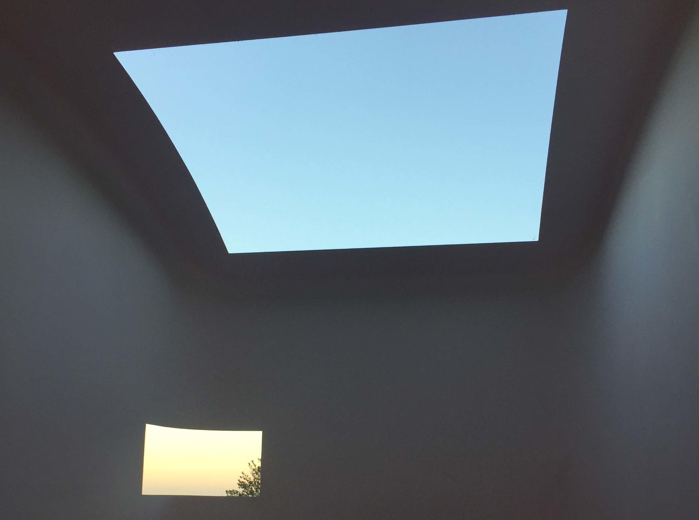 James Turrell's Above Horizon