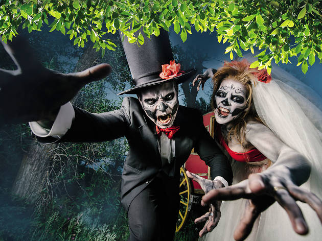 Eden Gardens Halloween