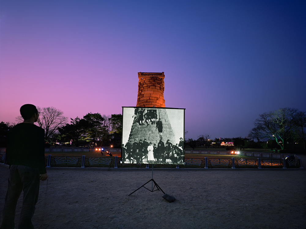 historic present001, 151x190(cm), c-print, 2009