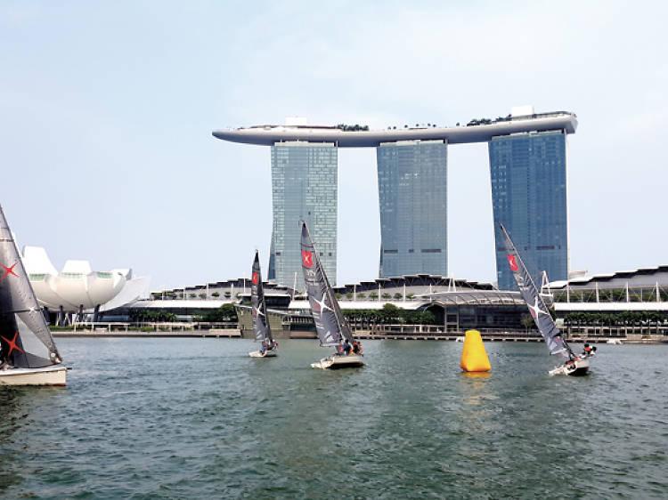 Marina Bay Sailing