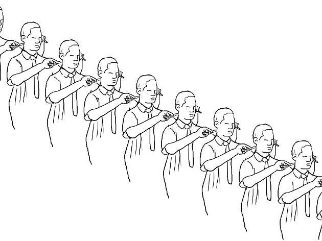 MACBA es viu: Cercle de perruquers