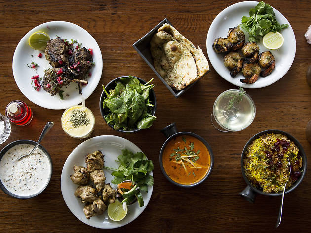 best indian restaurants in london, dishoom