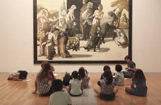 Actividades para crianças no Museu Berado