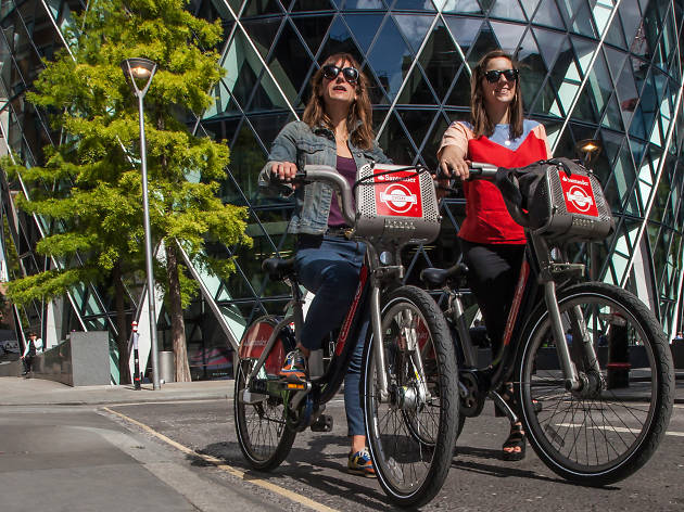 101 Things to do in London: Santander Bikes