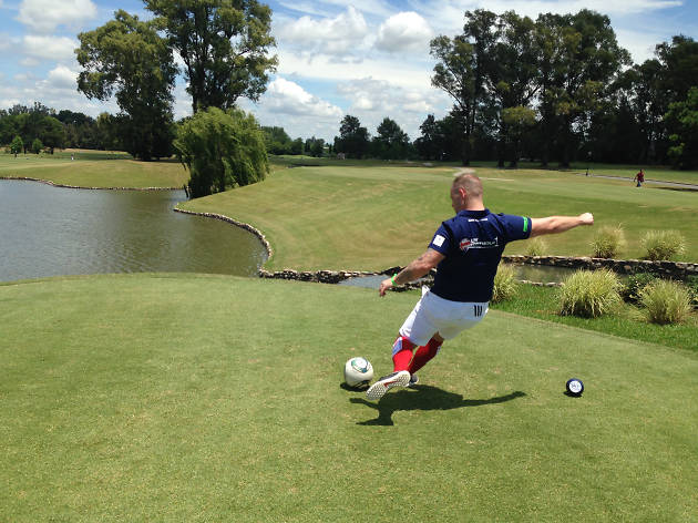 Play 'footgolf' in Chiswick