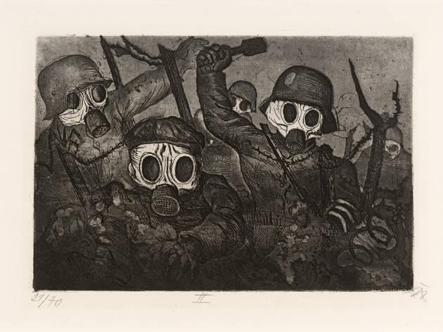 Otto Dix. Violencia y pasión