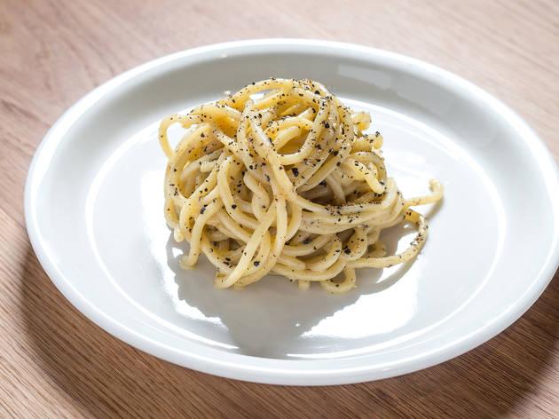 Butter noodle at Momofuku Nishi