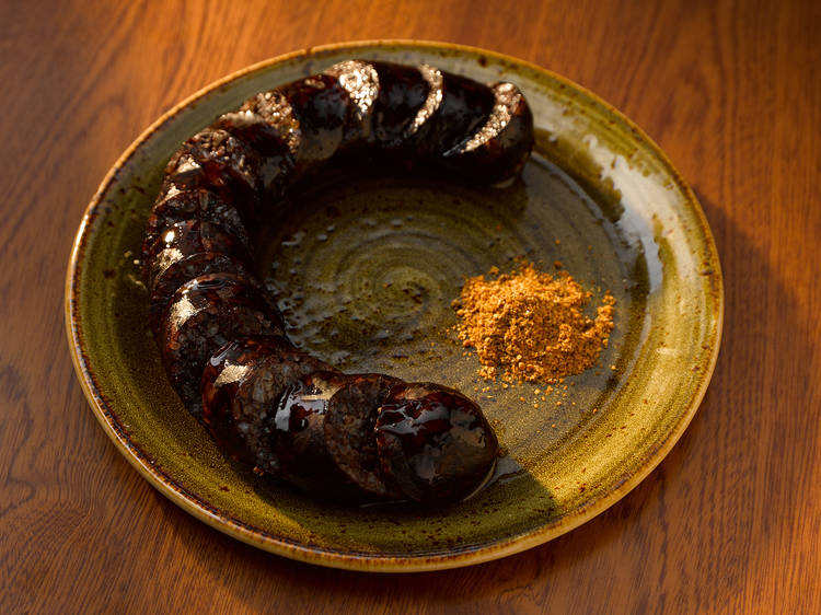 Blood sausage at Insa