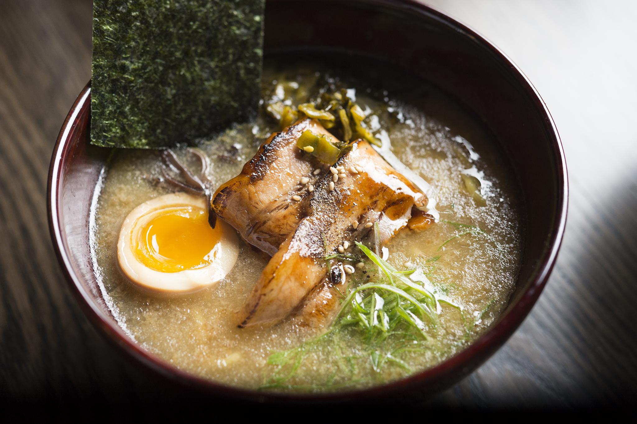 Tonkotsu at Momosan Ramen & Sake