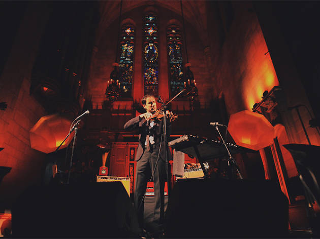 Andrew Bird will return to Fourth Presbyterian Church for a holiday residency