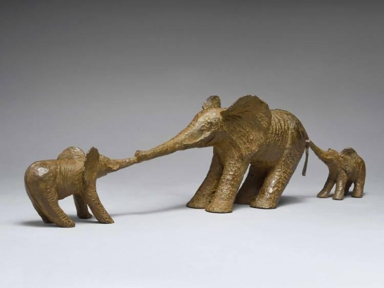 Le bestiaire fantastique de Sophie Verger à la galerie Gilbert Dufois