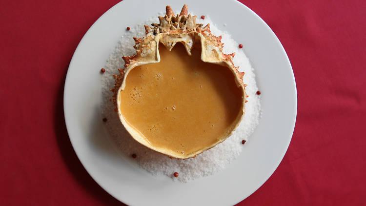 Sopa de Santola - Nobre
