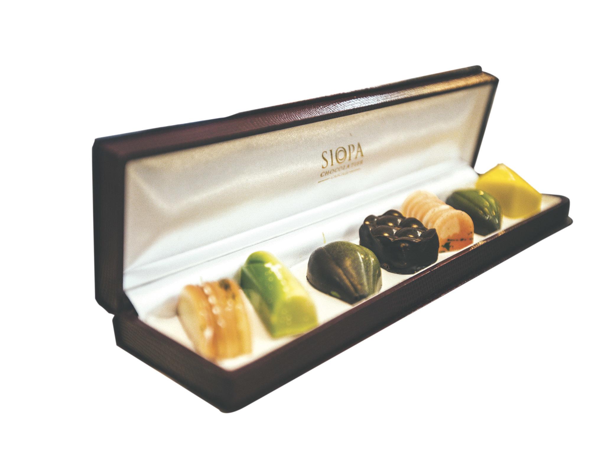 Chocolates da Siopa