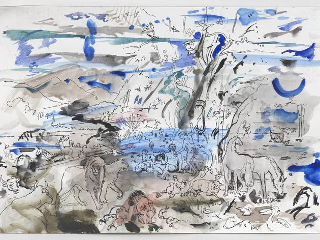 """Cecily Brown: Rehearsal"""