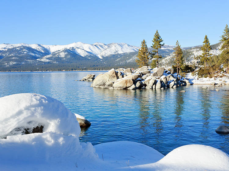 Best hills for tubing: Lake Tahoe, CA