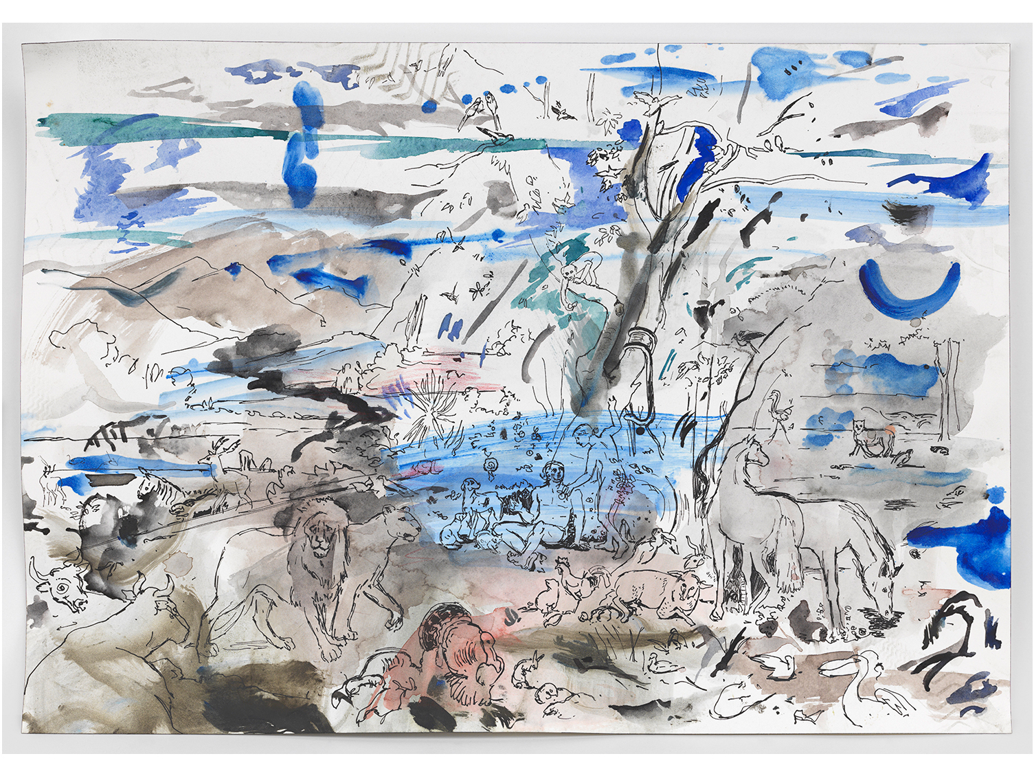 """""""Cecily Brown: Rehearsal"""""""