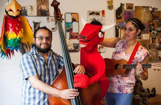 Saltapatrás, un grupo que hace música para niños