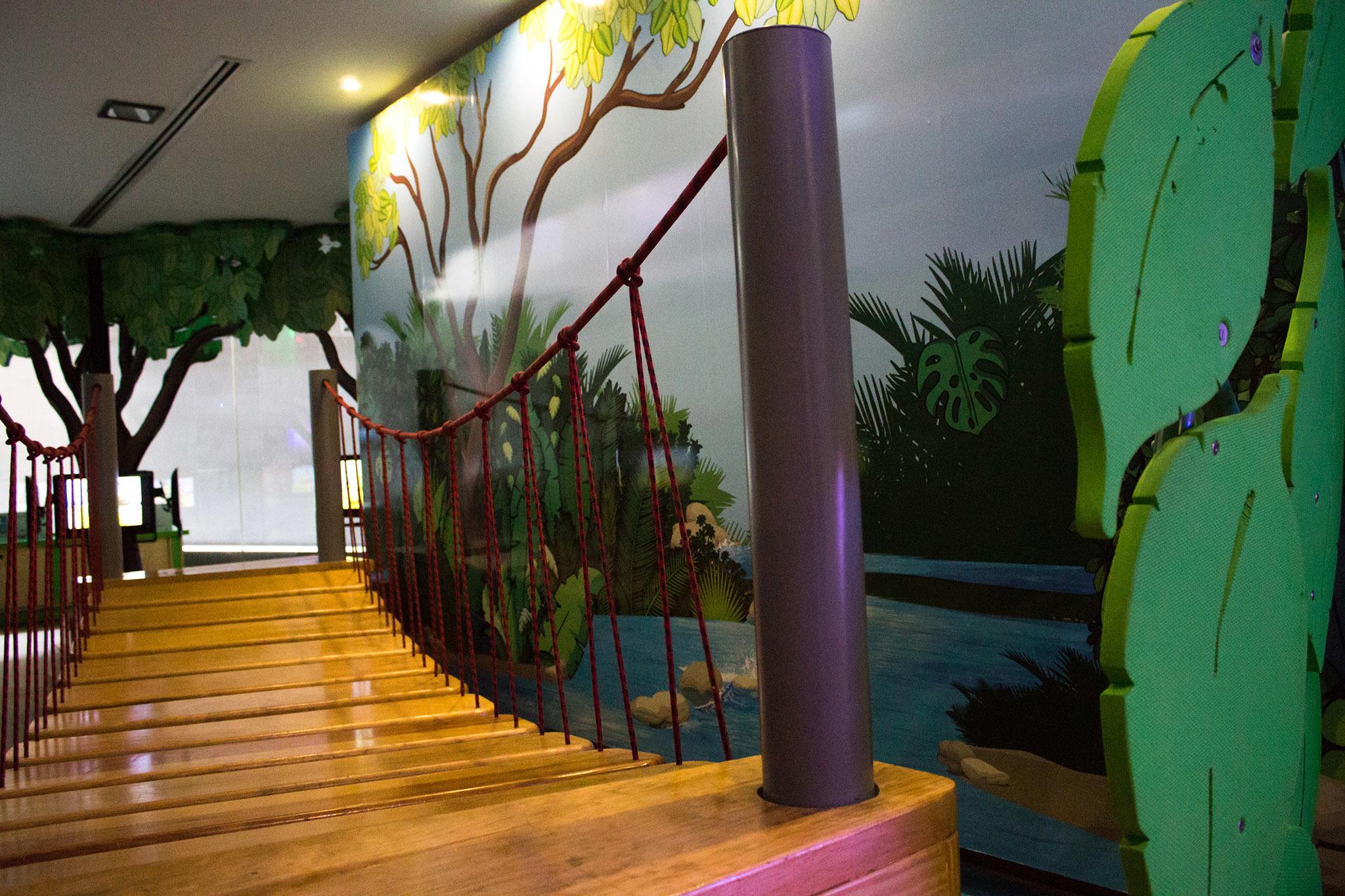 Isla Panwapa del Museo Memoria y Tolerancia
