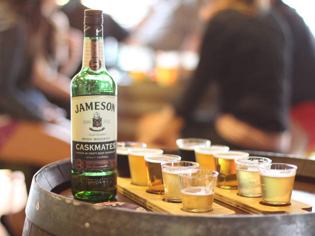 Jameson Caskmates at the Time Out Hop-up