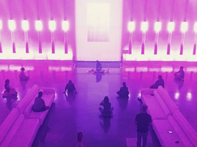The Class at the Sacred Space