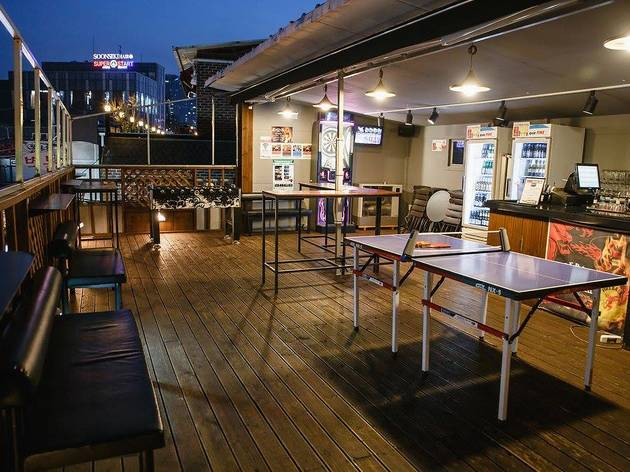 Playground Rooftop Cafe Amp Bar Bars In Seoul