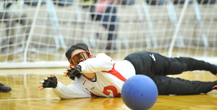 Photo courtesy of Japan Goal Ball Association
