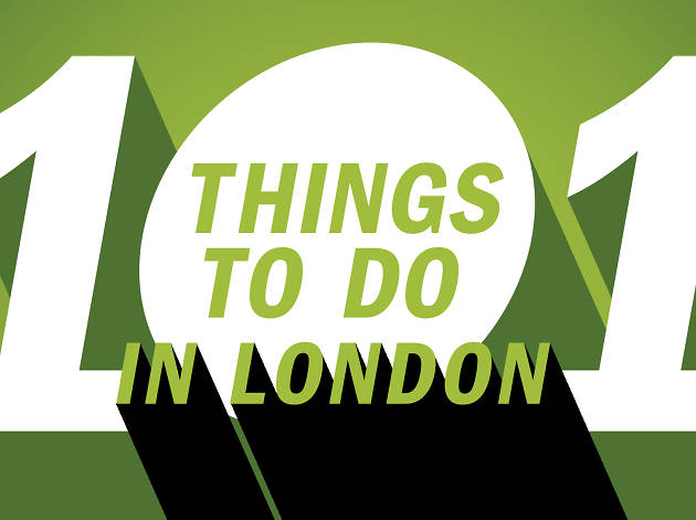 101 things to do in London 2016