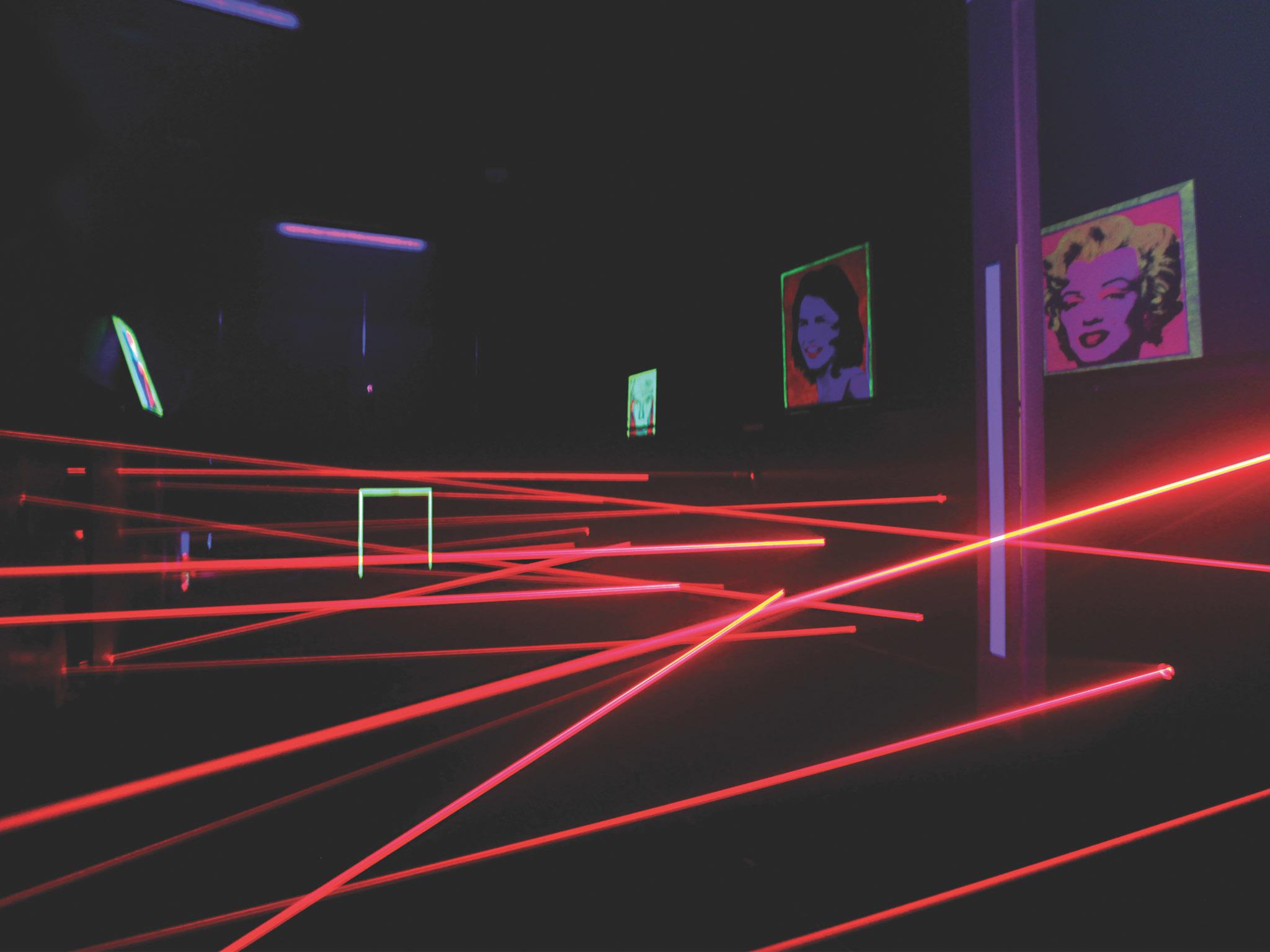 Teste a sua elasticidade no LaserMaze