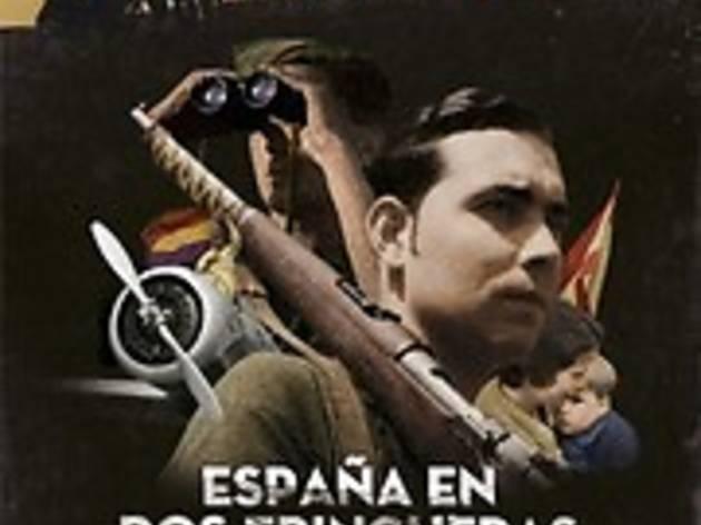 España en dos trincheras. La guerra civil en color
